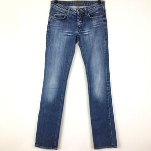 Acne Hep Pure Straight Leg Blue Jeans